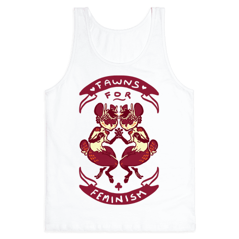 Fawns For Feminism Tank Top