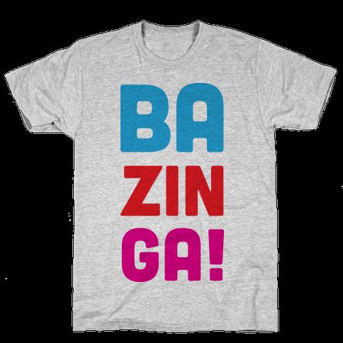 BAZINGA! Mens T-Shirt