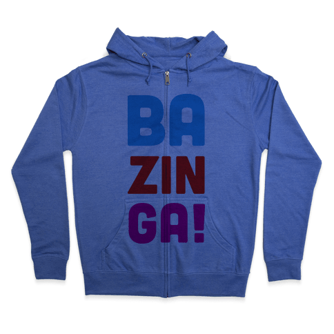 BAZINGA! Zip Hoodie