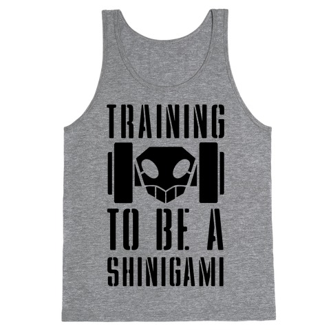 Training to be a Shinigami Tank Top