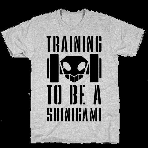 Training to be a Shinigami Mens T-Shirt