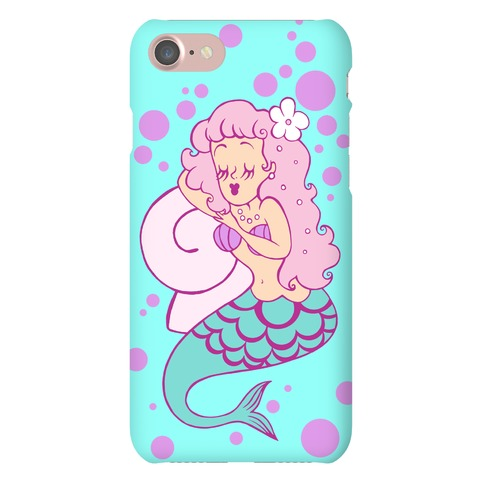 Sleepy Mermaid Phone Case