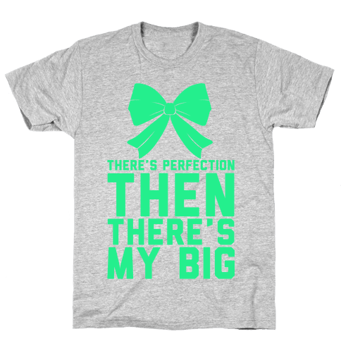 There's Perfection Then There's My Big Mens T-Shirt