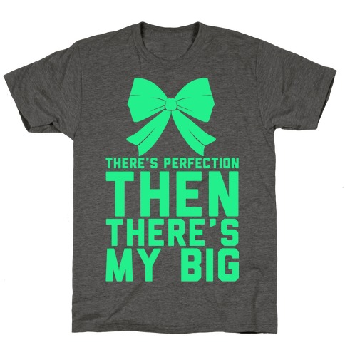 There's Perfection Then There's My Big T-Shirt