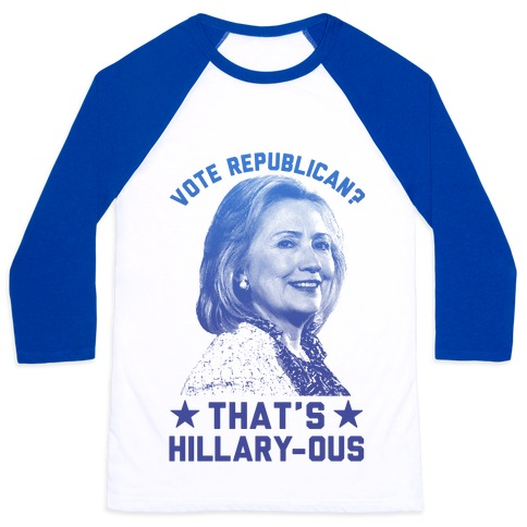That's Hillary-ous Baseball Tee