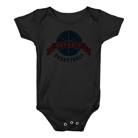 Boston Basketball Baby Onesy