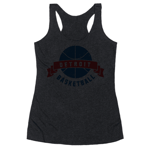 Boston Basketball Racerback Tank Top