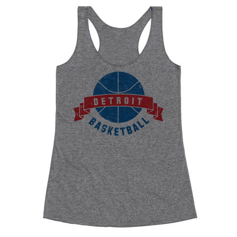 Boston Basketball Racerback Tank Top