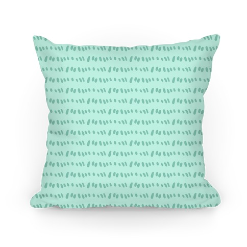 Doodle Sewing Stitches Pattern (Sea Foam Green)