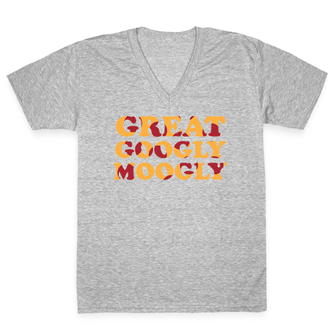 Great Googly Moogly V-Neck Tee Shirt