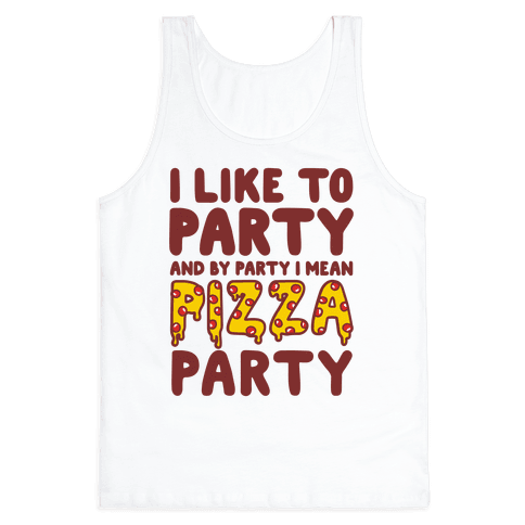Pizza Party Tank Top
