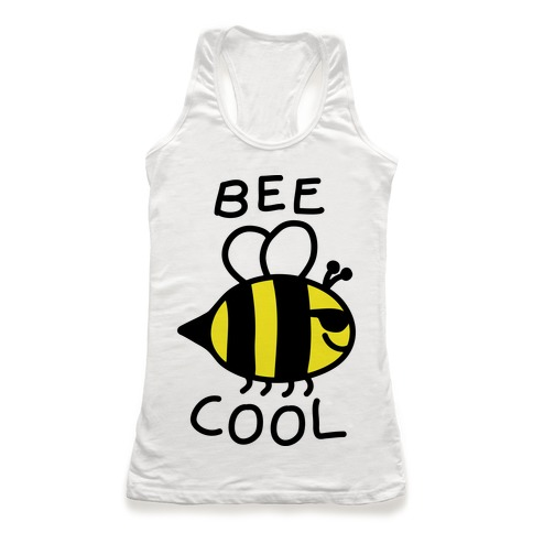 Bee Cool Racerback Tank Top
