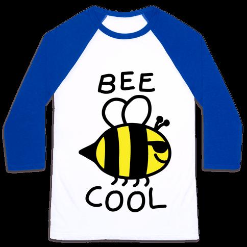 Bee Cool Baseball Tee