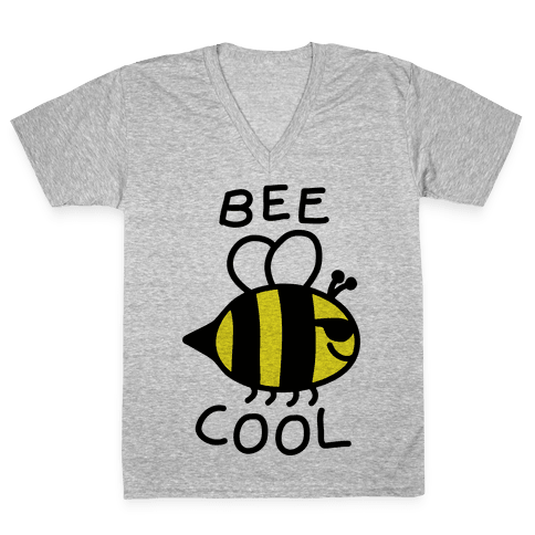 Bee Cool V-Neck Tee Shirt