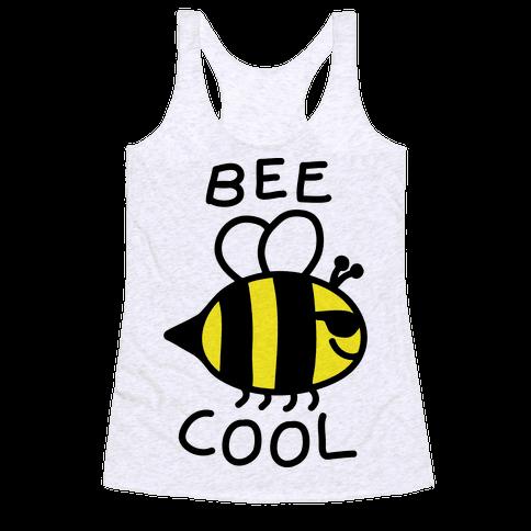 Bee Cool Racerback Tank Top