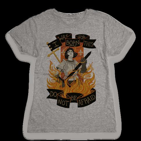 Saint Joan Of Arc Womens T-Shirt