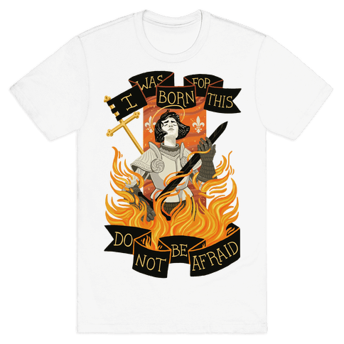 Saint Joan Of Arc Mens T-Shirt