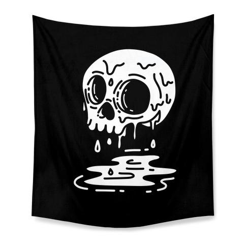 Melting Skull Tapestry