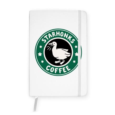 Starhonks Coffee Parody Notebook