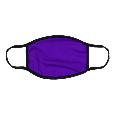 Purple Flat Face Mask