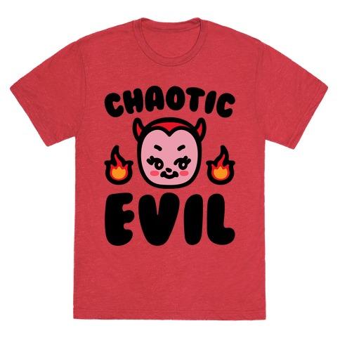 Chaotic Evil Mens/Unisex T-Shirt