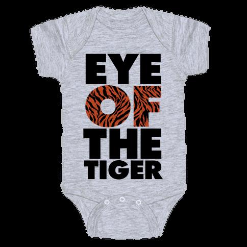 Eye Of The Tiger Baby Onesy