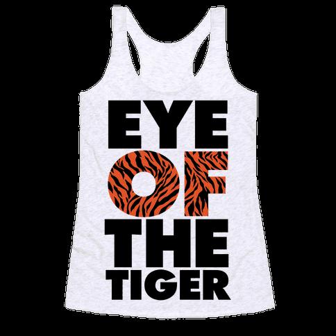 Eye Of The Tiger Racerback Tank Top