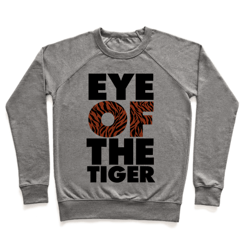 Eye Of The Tiger Pullover