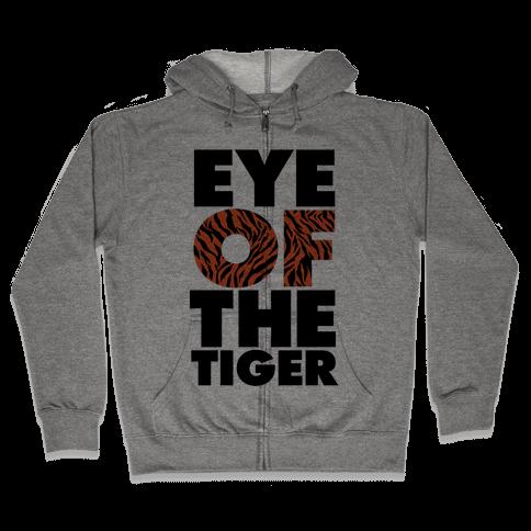Eye Of The Tiger Zip Hoodie