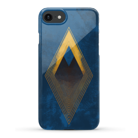 Golden Diamond Phone Case
