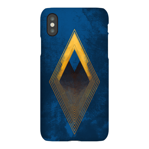 Golden Diamond Phone Case