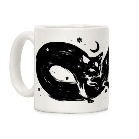 Infinity Cat Coffee Mug