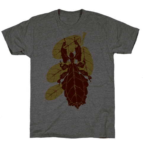 Phylliidae Walking Leaf Mens T-Shirt