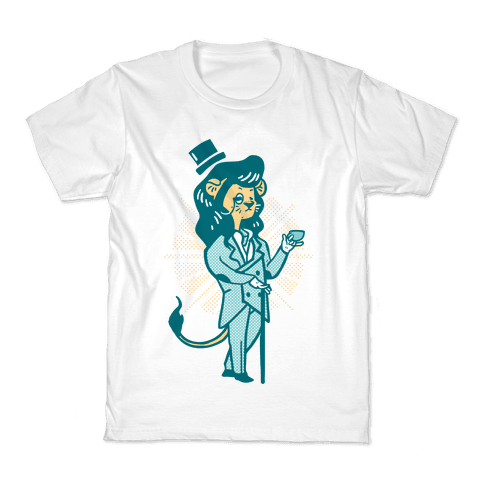 Dandy Lion (Dandelion) Kids T-Shirt