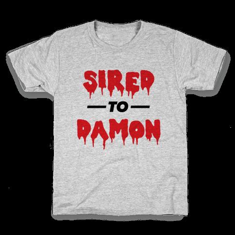Sired To Damon Kids T-Shirt