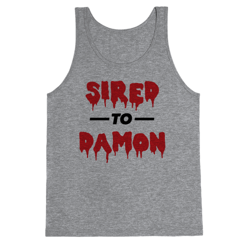 Sired To Damon Tank Top