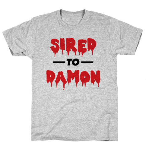 Sired To Damon Mens T-Shirt