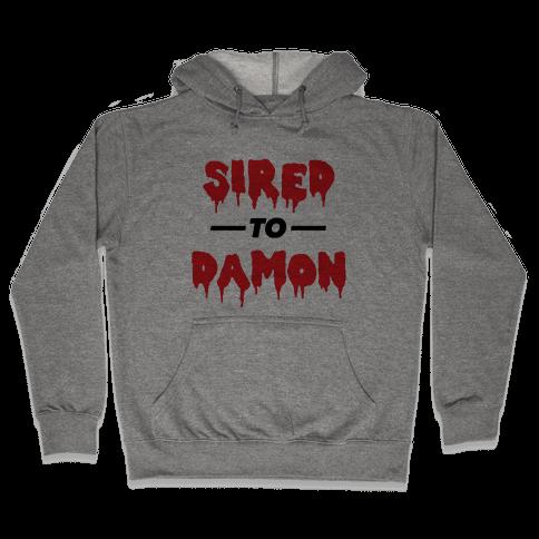 Sired To Damon Hooded Sweatshirt