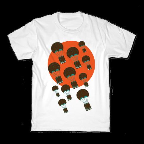 Book Drop Kids T-Shirt