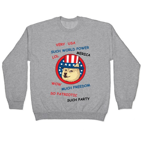 American Doge Pullover