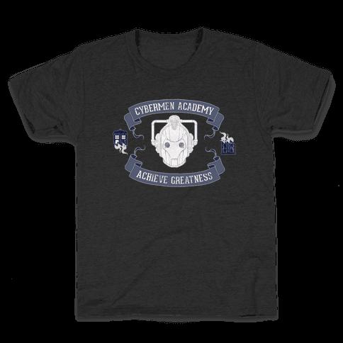 Cybermen Academy Kids T-Shirt