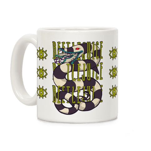 Beetlejuice Sandworm Coffee Mug