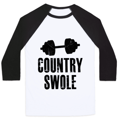 Country Swole Baseball Tee
