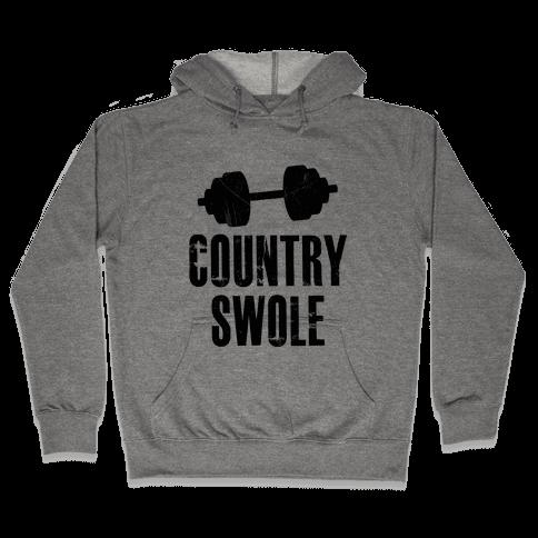 Country Swole Hooded Sweatshirt