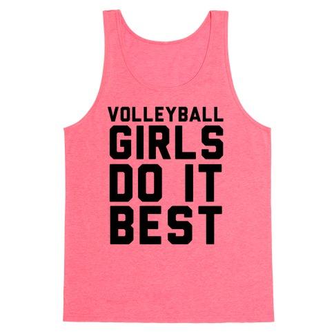 Volleyball Girls Tank Top