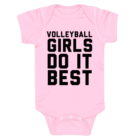 Volleyball Girls Baby Onesy