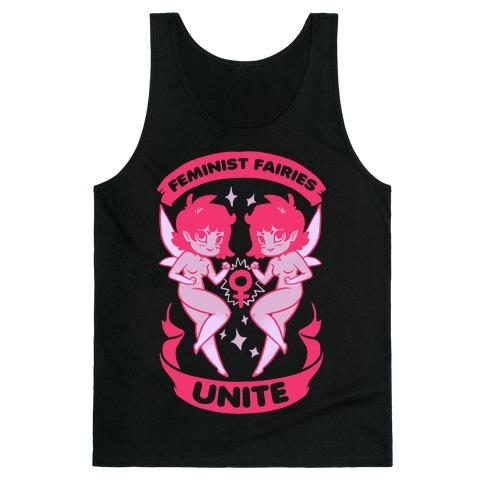 Feminist Fairies Unite Tank Top