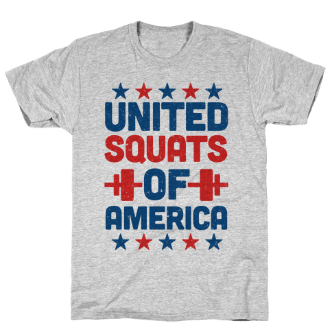 United Squats of America Mens T-Shirt