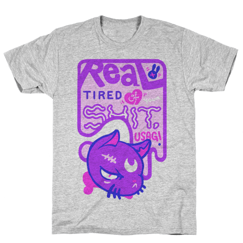 Real Tired of Your Shit, Usagi Mens T-Shirt