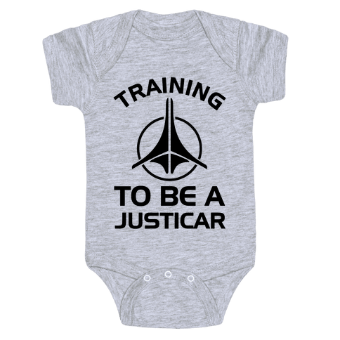 Training To Be A Justicar Baby Onesy